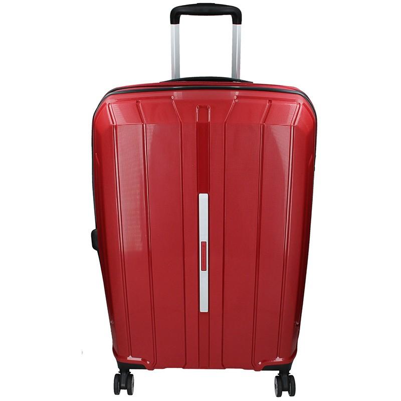 Cestovní kufr Snowball Barcelona L - vínová 95l