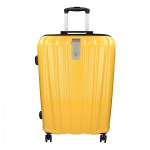 Sada 3 cestovních kufrů Snowball Lada S,M,L - žlutá