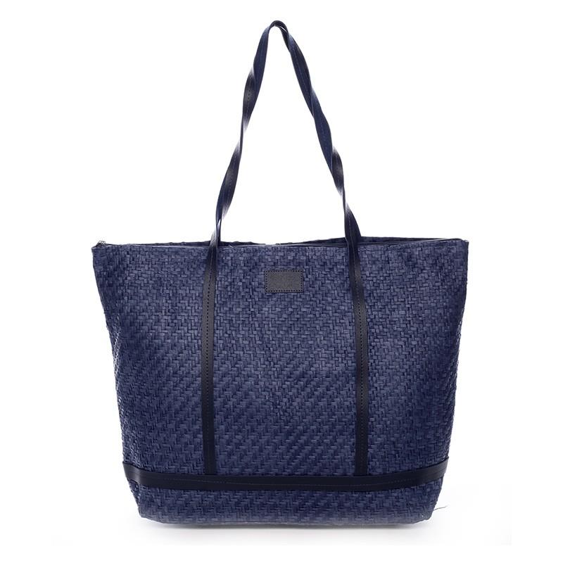 6c3ab4849e Plážová taška Vilma - modrá