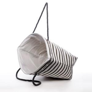 Plážová taška Karin - béžovo-šedá
