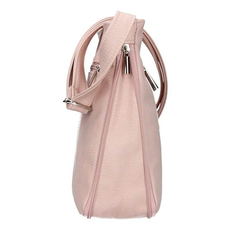Dámská crossbody kabelka SendiDesign Marietta - růžová