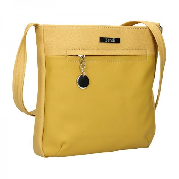 Dámská crossbody kabelka SendiDesign Matilde - žlutá