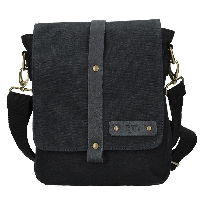 c0ce218db0 Pánská taška přes rameno 2JUS Borg - černá