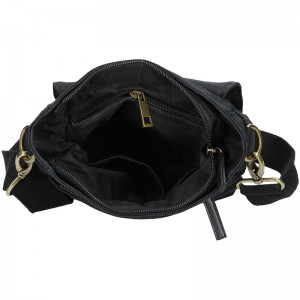 Pánská taška přes rameno 2JUS Borg - černá