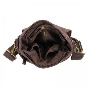 Pánská taška přes rameno 2JUS Borg - hnědá