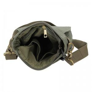 Pánská taška přes rameno 2JUS Borg - zelená