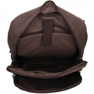 Pánský vintage batoh 2JUS Dumond - hnědá