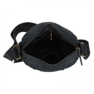 Pánská taška přes rameno 2JUS Monet - černá