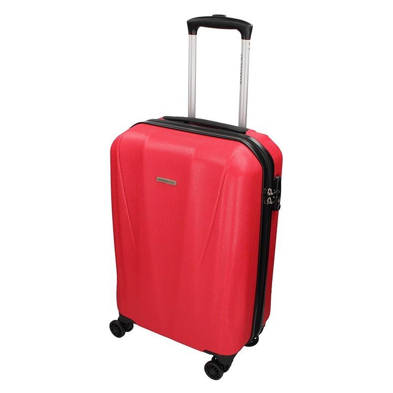 Cestovní kufr Marina Galanti Fuerta S - červená