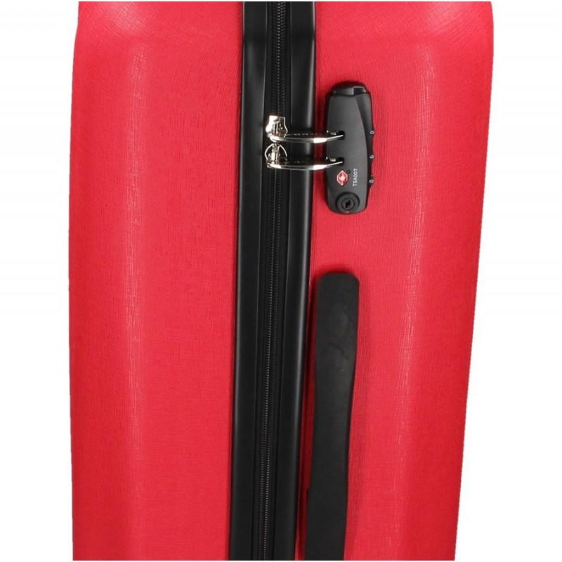 Cestovní kufr Marina Galanti Fuerta M - červená