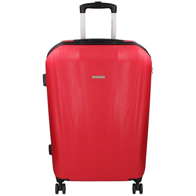 Cestovní kufr Marina Galanti Fuerta L - červená
