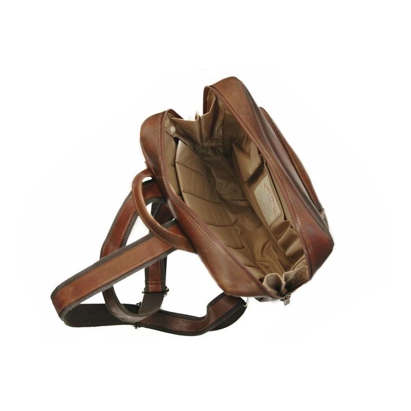 Pánský kožený batoh Daag Alive 13