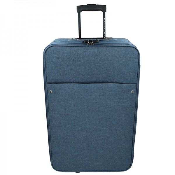 Cestovní kufr Marina Galanti Koss M - modrá