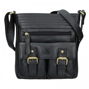 Pánská taška přes rameno Always Wild Victor - černá