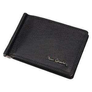 Pánská kožená dolarovka Pierre Cardin Laurent - černá