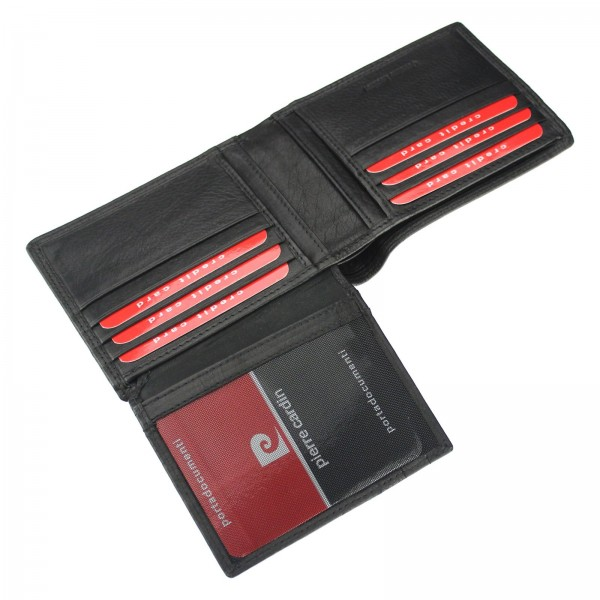 Pánská kožená peněženka Pierre Cardin Didiero - černá