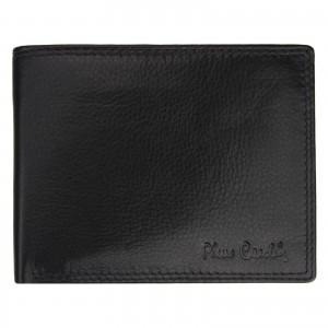 Pánská kožená peněženka Pierre Cardin Didier - černá