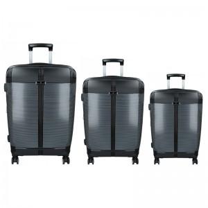 Sada 3 cestovních kufrů Snowball Endrs S,M,L - černá
