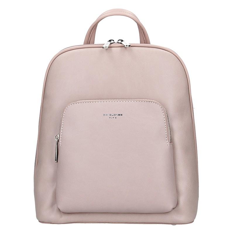 5bcf934c4 Módní dámský batoh David Jones Elvíras - růžová