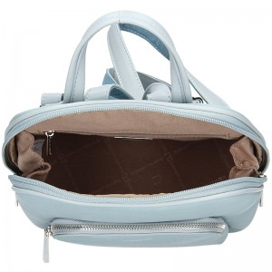 Módní dámský batoh David Jones Elvíras - modrá