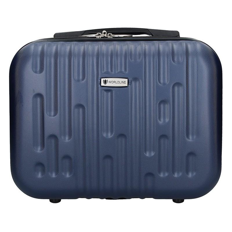 Kosmetický cestovní kufřík Airtex Worldline Kuga XS - modrá 15l