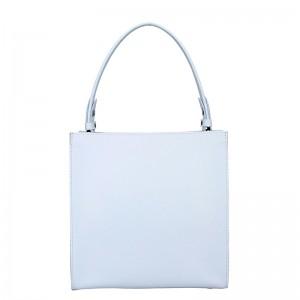 Dámská kožená kabelka Facebag Ange - bílá