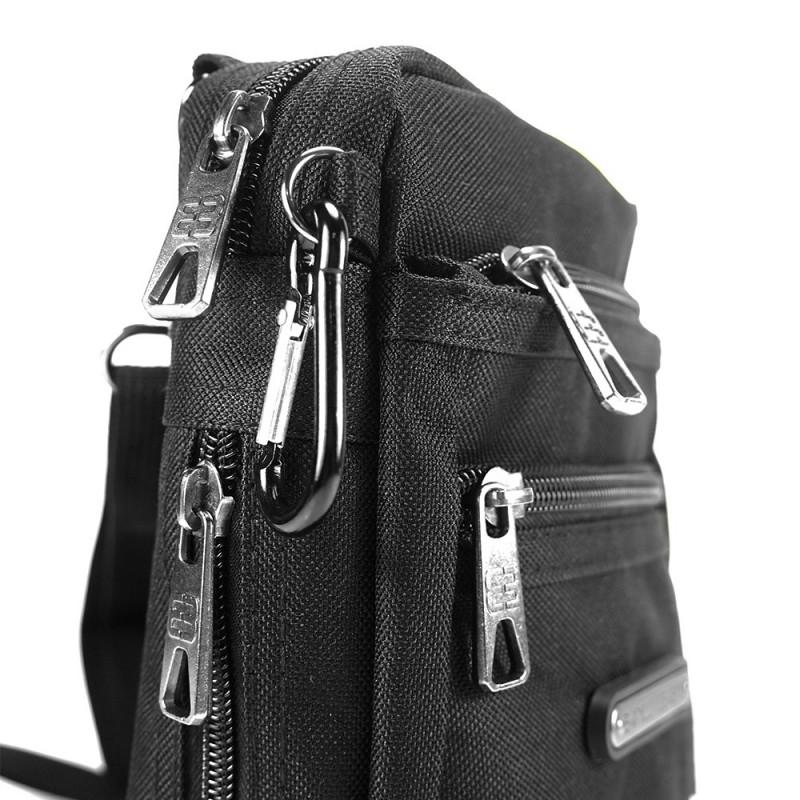 Pánská taška na doklady Enrico Benetti Marco - černá