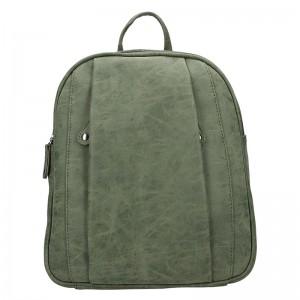 Trendy dámský batoh Just Dreamz Leona - olivová
