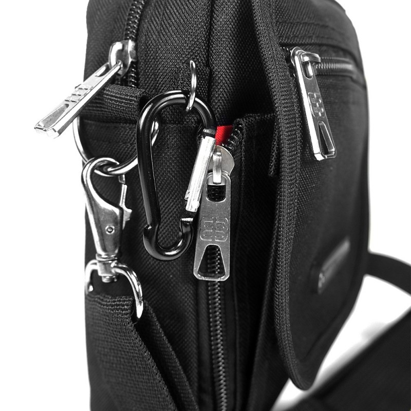 Pánská taška na doklady Enrico Benetti Chris - černá