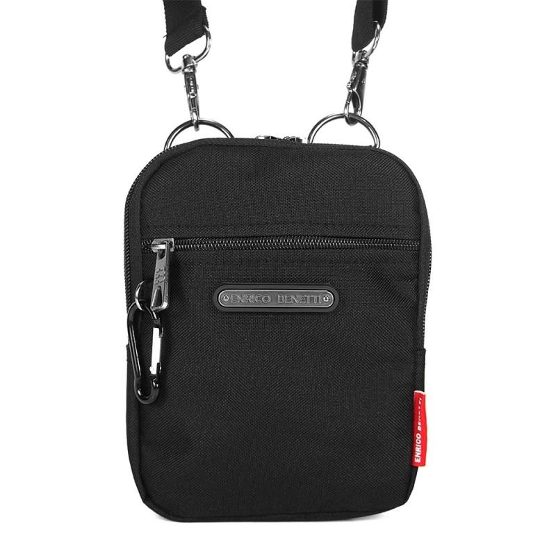 Pánská taška na doklady Enrico Benetti Ross - černá