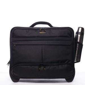 Kufr na notebook Ciak Roncato Hubert - černá