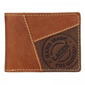 Pánská kožená peněženka Lagen Baltazar - hnědá