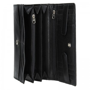Dámská kožená peněženka Lagen Amalie - černá