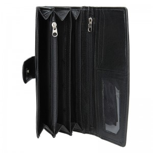 Dámská kožená peněženka Lagen Silvia - černá