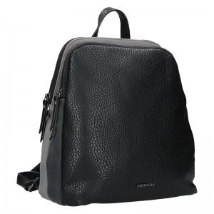 Elegantní dámský batoh Emily & Noah Karin - černo-šedá