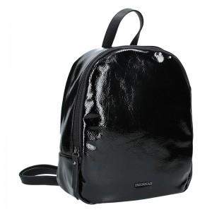 Elegantní dámský batoh Emily & Noah Tinna - černá