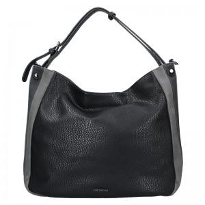 Dámská kabelka Emily & Noah - černo-šedá