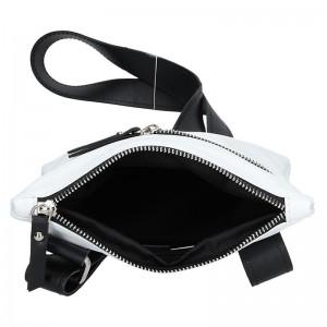 Pánská taška přes rameno Facebag Arnold - bílo-černá