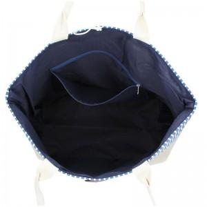 Plážová taška Enrico Benetti 71002 - modrá