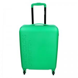 Kabinový cestovní kufr United Colors of Benetton Aura - zelená