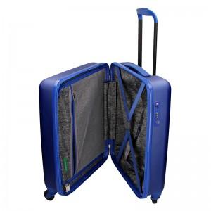Kabinový cestovní kufr United Colors of Benetton Aura - modrá