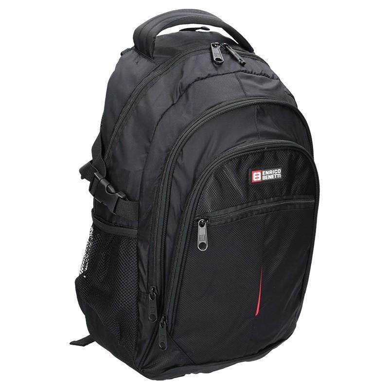 Moderní batoh Enrico Benetti 46066 - černá