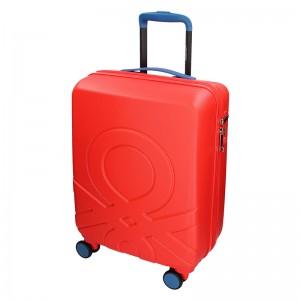 Kabinový cestovní kufr United Colors of Benetton Timis - červená