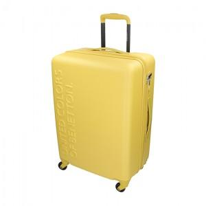 Kabinový cestovní kufr United Colors of Benetton Aura - červená