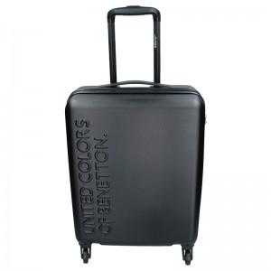 Kabinový cestovní kufr United Colors of Benetton Aura S - černá