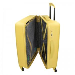 Cestovní kufr United Colors of Benetton Aura L - černá