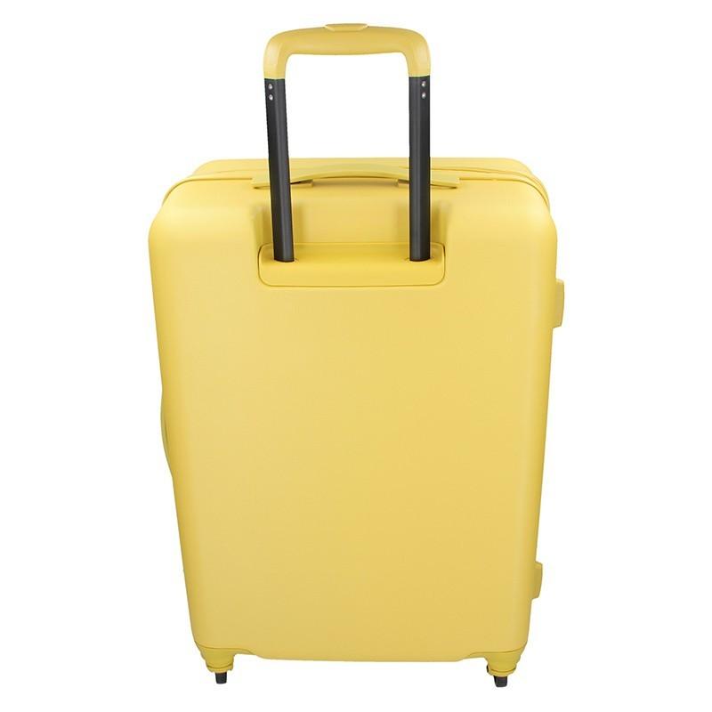 Kabinový cestovní kufr United Colors of Benetton Aura S - žlutá