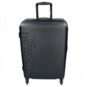Sada 3 cestovních kufrů United Colors of Benetton Aura S,M,L - černá
