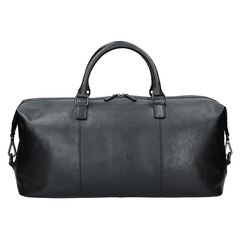 Pánská kožená cestovní taška Bugatti Dios - černá