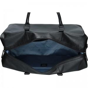 Pánská celokožená cestovní taška Bugatti Dios - černá